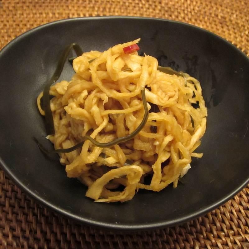 画像1: 菜香や■国産切干大根で作った「はりはり漬け」おにぎりの具にもなる便利漬物 (1)